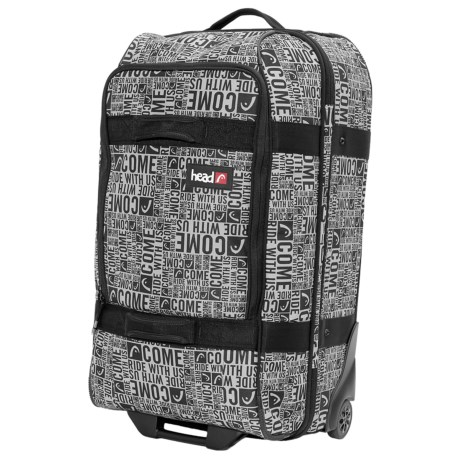 Head Rolling Suitcase - Small in Black