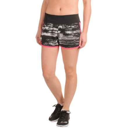 Head Solo Glacier-Print Shorts - Built-In Briefs, Slim Fit (For Women) in Black - Closeouts