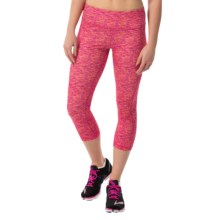 Head Space-Dye Capris - Mid Rise (For Women) in Beetroot - Closeouts