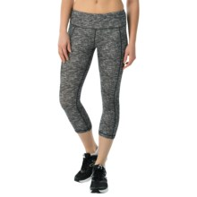 Head Space-Dye Capris - Mid Rise (For Women) in Black - Closeouts