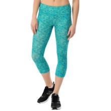 Head Space-Dye Capris - Mid Rise (For Women) in Vivid Blue - Closeouts