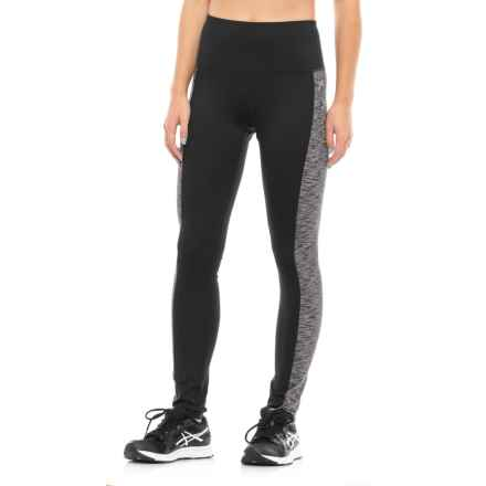 Head Space-Dye High-Rise Leggings (For Women) in Black - Closeouts