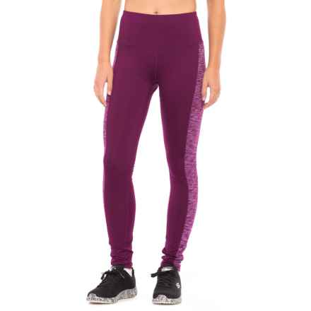 Head Space-Dye High-Rise Leggings (For Women) in Dark Purple - Closeouts