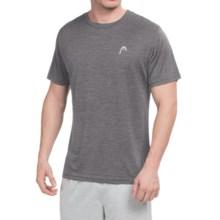 Head Space-Dye Hypertek T-Shirt - Short Sleeve (For Men) in Asphalt Heather - Closeouts