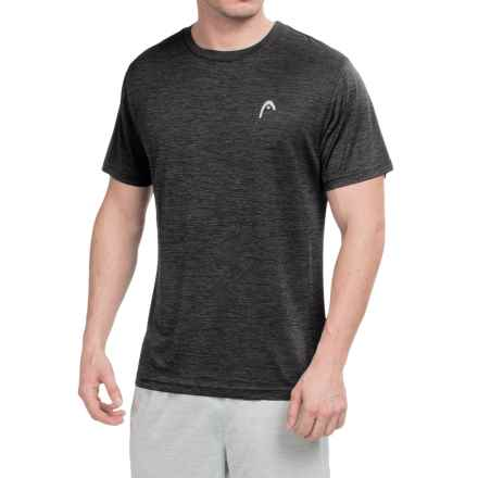 Head Space-Dye Hypertek T-Shirt - Short Sleeve (For Men) in Black Heather - Closeouts