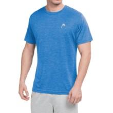 Head Space-Dye Hypertek T-Shirt - Short Sleeve (For Men) in Directoire Blue Heather - Closeouts