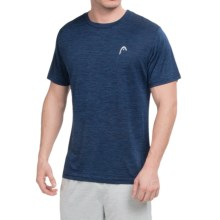 Head Space-Dye Hypertek T-Shirt - Short Sleeve (For Men) in Medieval Blue Heather - Closeouts