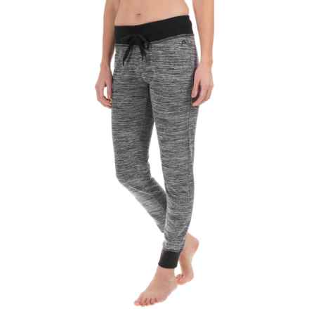 Head Space-Dye Joggers (For Women) in Black Heather - Closeouts