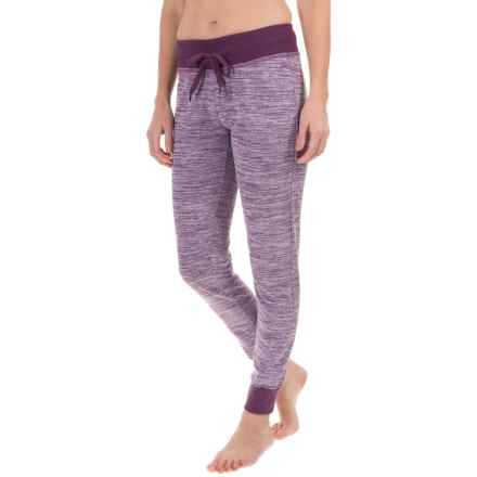 Head Space-Dye Joggers (For Women) in Blackberry Cordial Heather - Closeouts