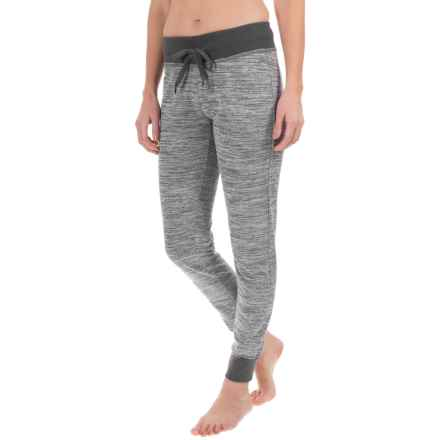 Head Space-Dye Joggers (For Women) in Ebony Heather - Closeouts