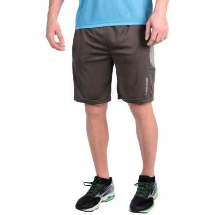 Head Spark Shorts - Built-In Compression Shorts (For Men) in Asphalt - Closeouts