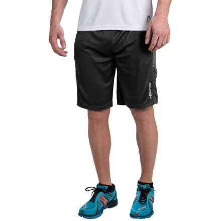 Head Spark Shorts - Built-In Compression Shorts (For Men) in Black - Closeouts