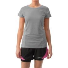 Head Speedy Shirt - Short Sleeve (For Women) in Grey Heather - Closeouts