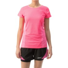 Head Speedy Shirt - Short Sleeve (For Women) in Knockout Pink Heather - Closeouts