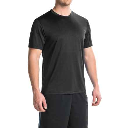 Head Spring Star Hypertek® T-Shirt - Crew Neck, Short Sleeve (For Men) in Black Heather - Closeouts