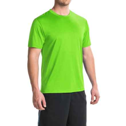 Head Spring Star Hypertek® T-Shirt - Crew Neck, Short Sleeve (For Men) in Green Lantern Heather - Closeouts