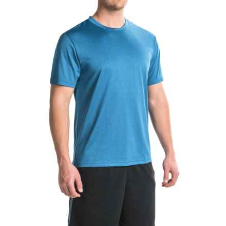 Head Spring Star Hypertek® T-Shirt - Crew Neck, Short Sleeve (For Men) in Vibrant Blue Heather - Closeouts