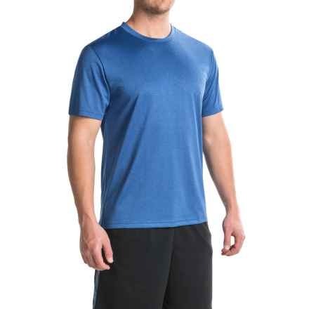 Head Spring Star Hypertek® T-Shirt - Crew Neck, Short Sleeve (For Men) in Vital Blue Heather - Closeouts
