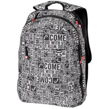 Head Street Backpack in Black/Grey Graphic - Closeouts
