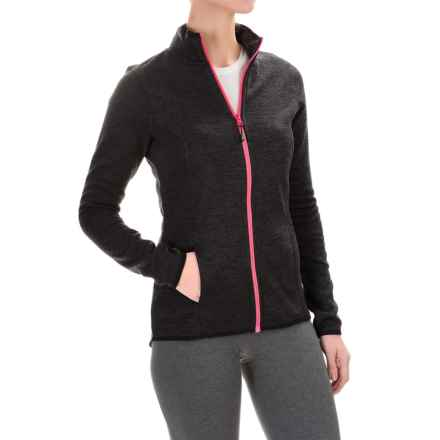Head Sweater-Knit Jacket (For Women) in Black Heather - Closeouts