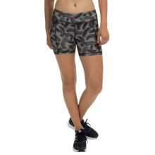 "Head Tachisme Compression Shorts - 5"" (For Women) in Black - Closeouts"