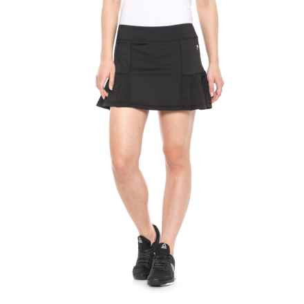 Head Tennis Skort - Pleated (For Women) in Black - Closeouts
