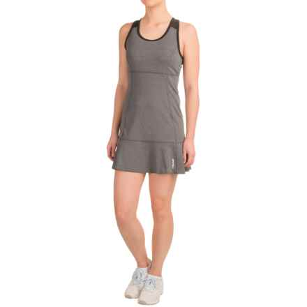 Head Tennis Tank Dress - Sleeveless (For Women) in Charcoal Heather - Closeouts