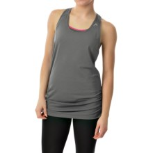 Head Textured Tank Top - Loose Fit, Racerback (For Women) in Castlerock - Closeouts