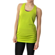 Head Textured Tank Top - Loose Fit, Racerback (For Women) in Sweet Pea - Closeouts