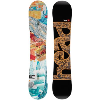 Head The Evil Flamba Snowboard in See Photo