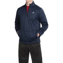 Head Thunder Sweatshirt - Zip Neck (For Men) in Navy Heather - Closeouts