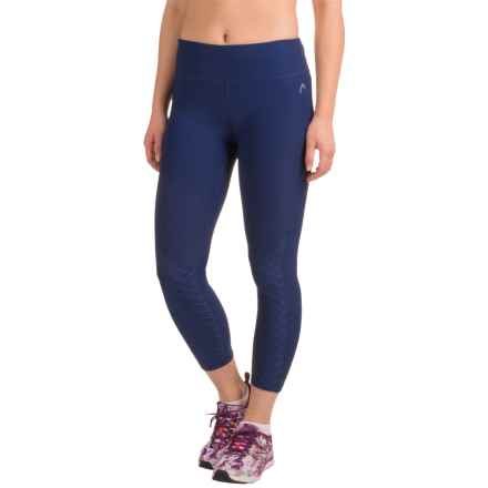 Head Title Capris (For Women) in Medieval Blue - Closeouts