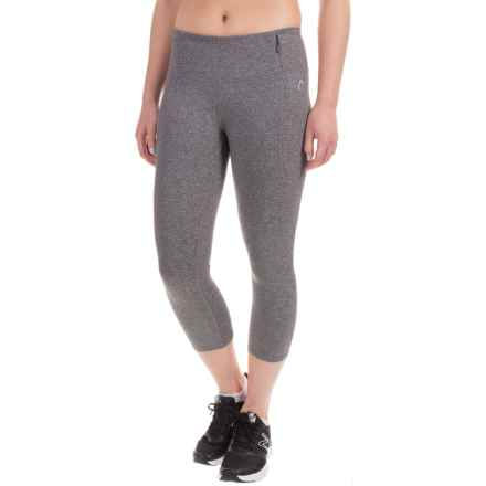 Head Uptown Tight Capris (For Women) in Charcoal Heather - Closeouts