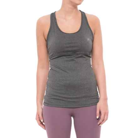 Head Valiant Tank Top - Shelf Bra, Removable Cups (For Women) in Charcoal Heather - Closeouts