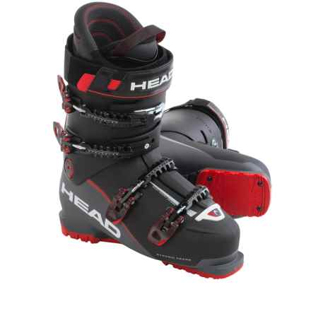 Head Vector EVO 110 Alpine Ski Boots (For Men) in Black/Anthracite/Red - Closeouts