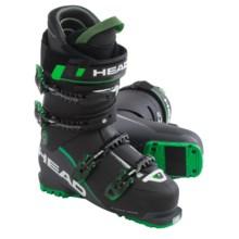 Head Vector EVO 120 Alpine Ski Boots (For Men) in Black/Anthracite/Green - Closeouts