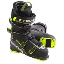 Head Vector EVO 130 Alpine Ski Boots (For Men) in Black/Anthracite/Yellow - Closeouts
