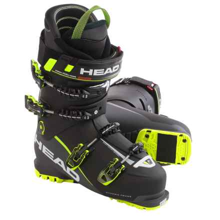 Head Vector EVO 130 Alpine Ski Boots (For Men) in Black/Anthracite/Yellow - Closeouts
