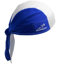 Headsweats Classic Skull Cap - CoolMax® (For Men and Women) in Classic Royal/White/Royal - Closeouts