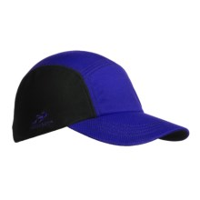 Headsweats CoolMax® Race Hat (For Men and Women) in Royal/Black - Closeouts
