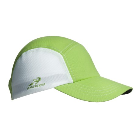 Headsweats CoolMax® Race Hat (For Women) in Lime
