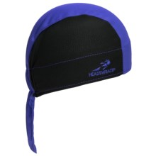 Headsweats Shorty Skull Cap - CoolMax® in 811 Black/Royal - Closeouts