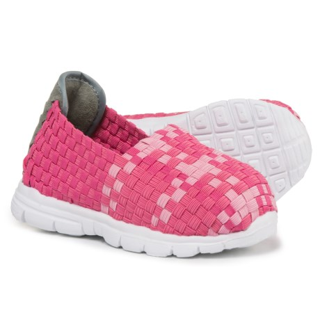 Heal USA Bailey Shoes - Slip-Ons (For Girls) in Deep Pink/Pink