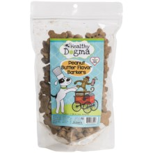 Healthy Dogma Peanut Butter Dog Treats - 16 oz. in Peanut Butter - Closeouts