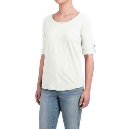 Heathered Shirt - Long Sleeve (For Women) in Cream - 2nds