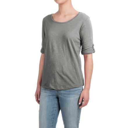 Heathered Shirt - Long Sleeve (For Women) in Dark Grey - 2nds