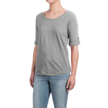 Heathered Shirt - Long Sleeve (For Women) in Grey - 2nds