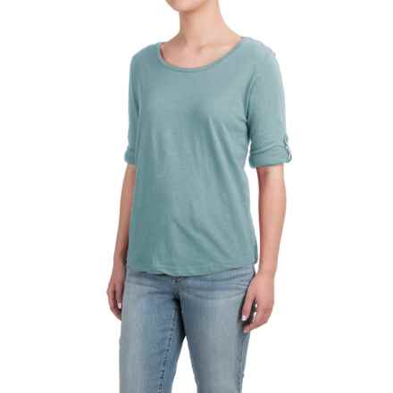 Heathered Shirt - Long Sleeve (For Women) in Jade - 2nds