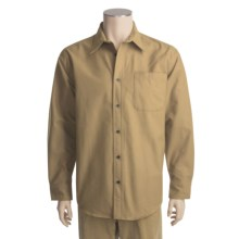 Heavy Chamois Shirt - Long Sleeve (For Men) in Khaki - Closeouts