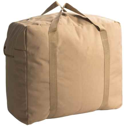 Heavy-Duty Duffel Bag - Large in Tan - Closeouts